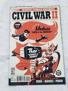 Marvel-Comics-Civil-War-II-2D-Variant-2016-NM