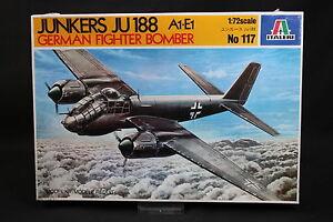 XX088-ITALERI-1-72-maquette-avion-117-Junkers-JU-188-A1-E1-German-Fighter-Bomber