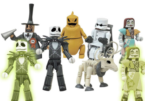 "Disney minimates nightmare before christmas-choisissez votre 2 /""Figure-Series 1"
