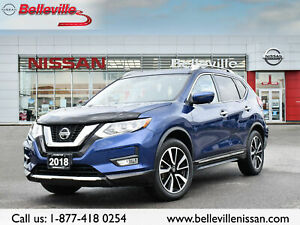 2018 Nissan Rogue SL AWD 1 OWNER, LEATHER, SUNROOF, NAVIGATION