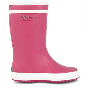 AIGLE-Lolly-Pop-Rain-Boots-New-Rose-Pink-Women-039-s-Sz-5-BRAND-NEW