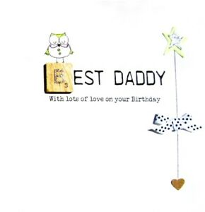 Image Is Loading Best Daddy Birthday Bexyboo Scrabbley Neon Card