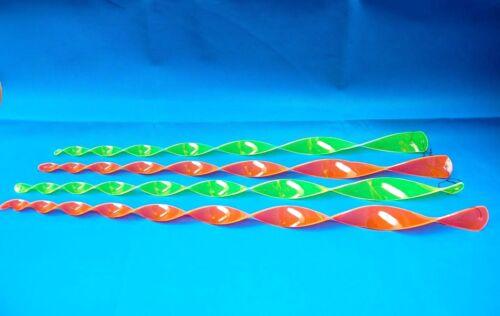 Windspirale Windspiel Deko in Neon Gelb o Pink WINDSPIEL TWISTER BUNT 70 cm