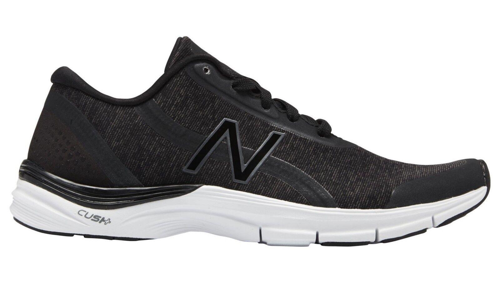 Women's NEW BALANCE Training Grey Black   White Sole shoes Nylon wx711jb3