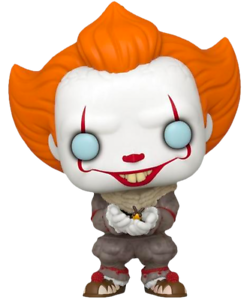 Pennywise-with-Glow-Bug-Funko-Pop-Vinyl-New-in-Box