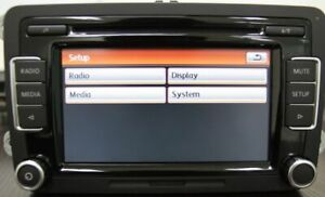 VW-Autoradio-Stereo-RCD510-USB-CD-MP3-SD-AUX-Golf-Passat-Tiguan-Jetta-POLO-Caddy