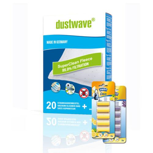 1 Swirl Deo Stick Y Filtertüten 101 1-60 Staubsaugerbeutel für Y101//d
