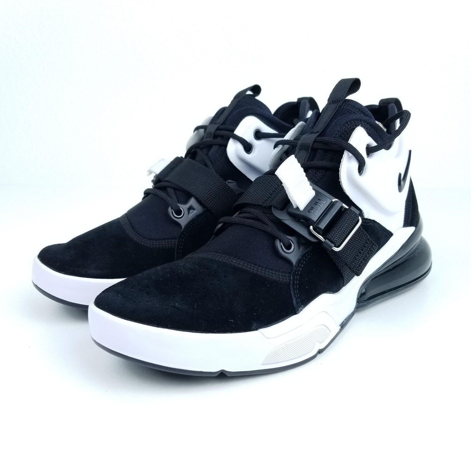 Nike Air Force 270 Black Metallic Silver White AH6772 006 Mens Sneaker Size 7-12