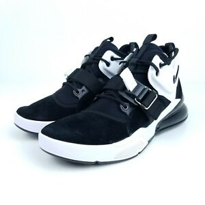 Nike Air Force 270 Black Metallic Silver White AH6772 006 Mens ... aaec37852