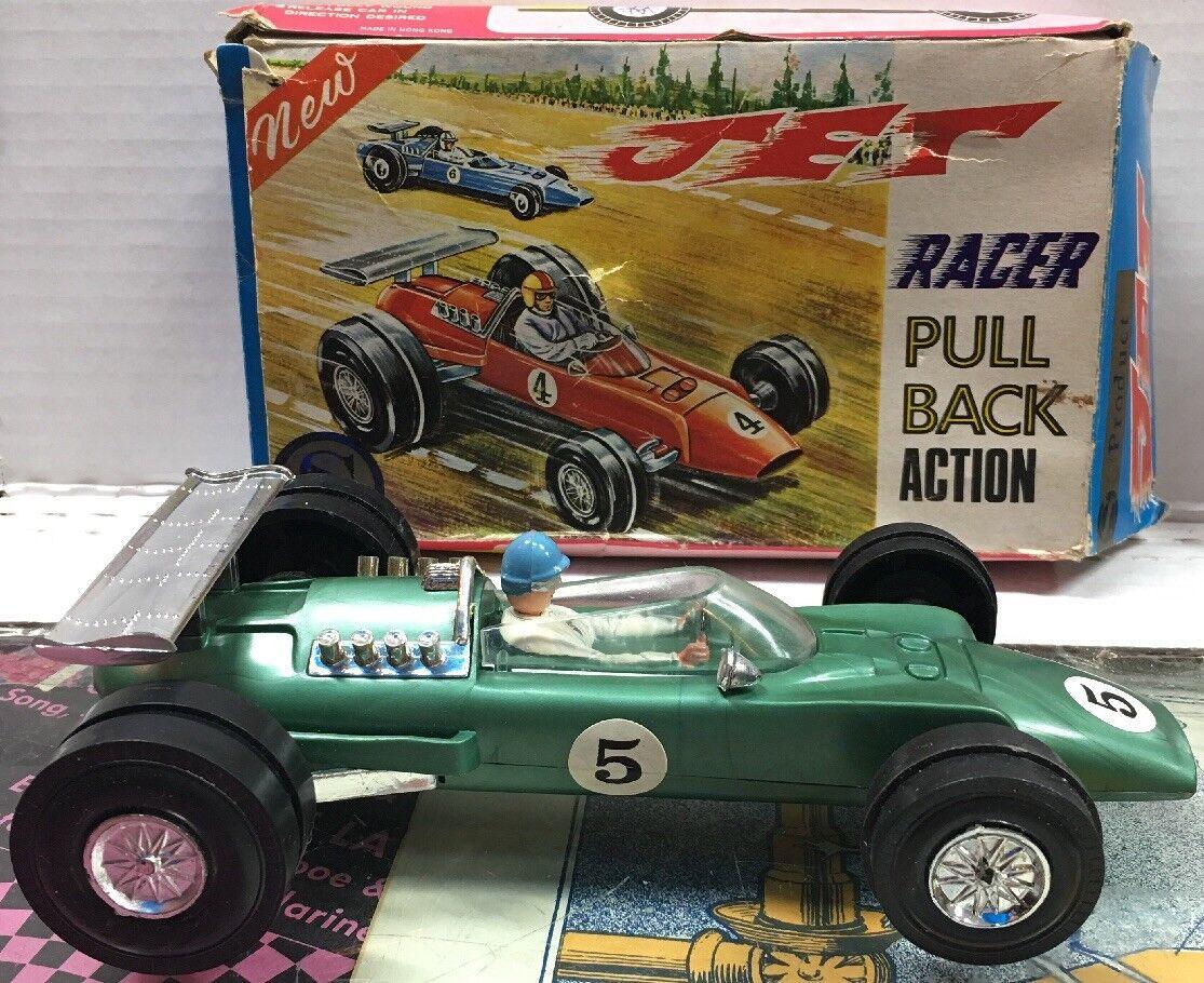 Vintage S Product Jet Racer Pull Back Action N2 505