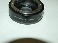 1.5x Auto Vivitar Teleconverter Lens For Contax And Yashica Slr Cameras