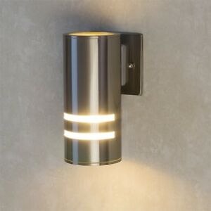 Artika stainless steel v1 outdoor indoor led wall light ip65 with image is loading artika stainless steel v1 outdoor amp indoor led aloadofball Gallery
