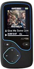 NEW AGPtek C05 8GB Portable Bluetooth MP3 Player With FM Radio/FREE UK POSTAGE