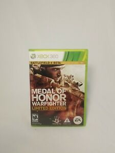 Medal of Honor: Warfighter -- Limited Edition (Microsoft Xbox 360, 2012) Tested