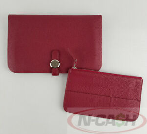 BIGSALE-AUTHENTIC-2110-HERMES-Paris-Ruby-Dogon-Recto-Verso-Wallet-with-Insert