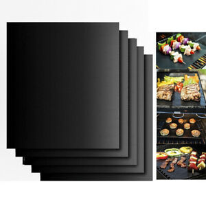 BBQ Grill Mat Accessories Non-Stick, Reusable and Heat Resistant Baking Pad Mat