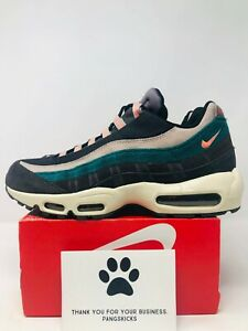 Details about Nike Air Max 95 Premium 'Oil Grey Teal' 538416 018 Size 10.5 11