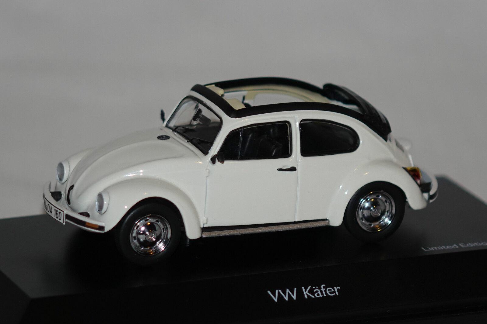 Vw beetle 1600  Open Air  Blanc 1 43 schuco NOUVEAU & OVP 3879