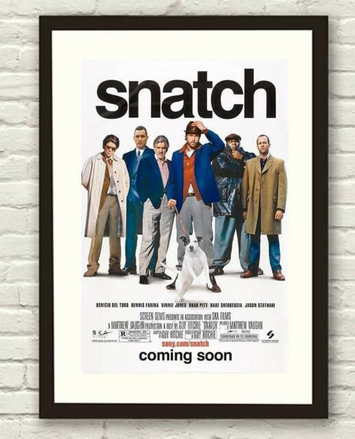 Guy Ritchies Snatch Movie Film Poster/ Print / Picture A3 A4 Size