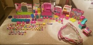 EXTRA-Large-Lot-of-Shopkin-Figures-Shoppies-and-Collector-Case-MISC