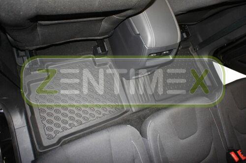 Premium 3d-tpe goma tapices para Ford S-Max Business Edition 2 van combi 5-tü30