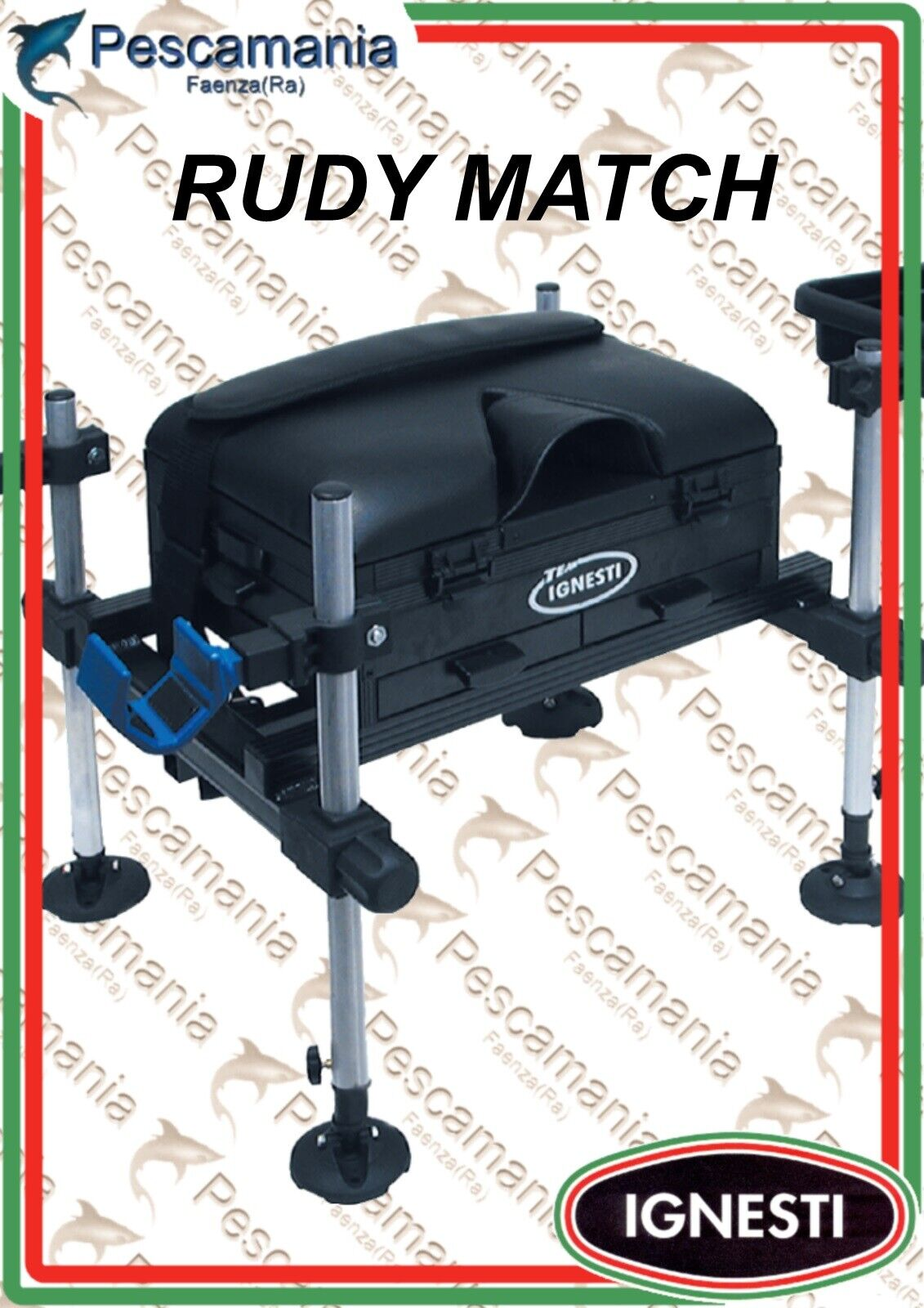 Korb Ignesti RUDY MATCH - Beine ø25mm - gerade Seite