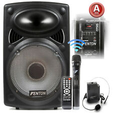 Fenton 15 Inch FPS15 Active Powered Portable Fitness Audio Sound System 350W 02a87e5342a99