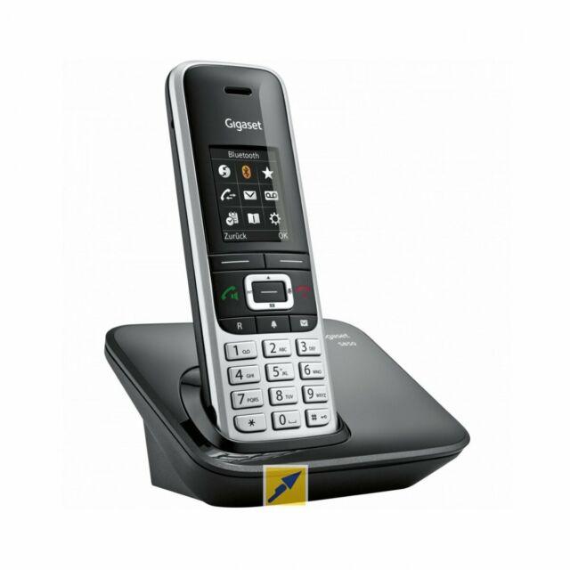 Gigaset S850A GO Teléfono IP Negro Platino Terminal inalámbrico Tono/Pulso 55min