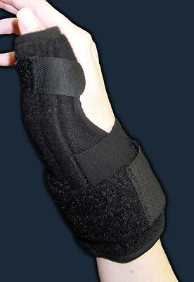 Deluxe Thumb Splint Support Brace Protect Joint Universal Protection Arthritis