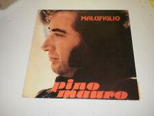 PINO MAURO - MALUFIGLIO - RARO LP LINEAVIS RECORDS - MUSICA NAPOLETANA -