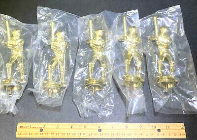 team lot of 10 BASEBALL Award gold trophy economy participation