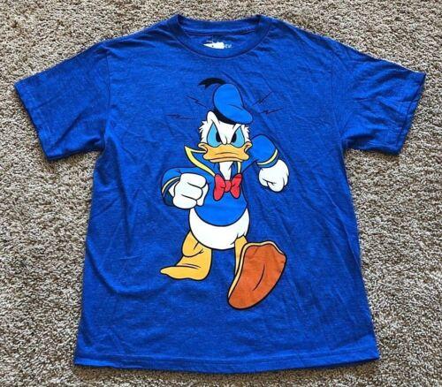 NWT Youth Blue Short Sleeve Donald Duck Top T-Shirt Medium