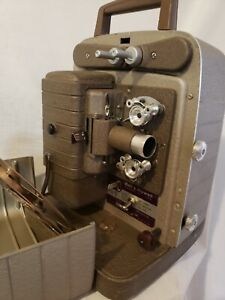 Bell & Howell Model 253R 8mm Film Projector Zoom Lens Reel - Untested