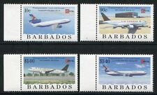 BARBADOS 1996 Flugzeuge Aircraft Passagierflugzeuge 906-909 ** MNH