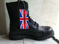 Skinhead Invader Boots 10 Hole Gothic