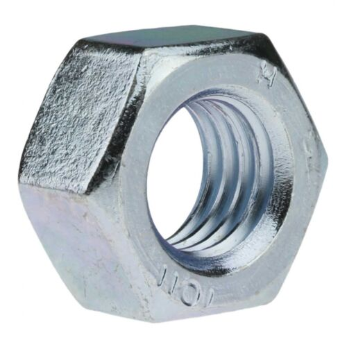M 24 verzinkt farblos Stahl Klasse 10 galv 50x DIN 934 Sechskantmuttern