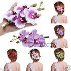 Fashion Women Girl Hair Clip Flower Hairpin Bridal Hawaii Party Hair Accessories