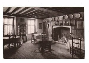 Worcestershire - Broadway, Lygon Arms, Smaller Dining Room - Vintage Postcard
