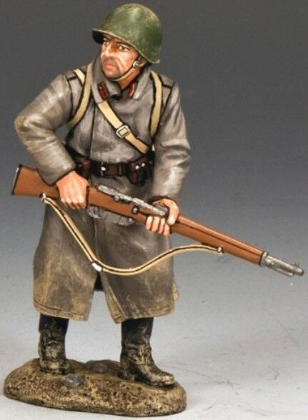 KING & COUNTRY FALL OF BERLIN RA033 RUSSIAN RED ARMY STANDING READY MIB