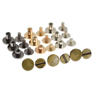 20pcs-Solid-Brass-Screw-Rivets-Punk-for-Bags-Shoes-Sewing-Decor-Leathercraft-DIY