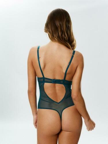 D-E Cup Ann Summers Evangelique Teal /& Black Body Sz 20-22 *In Stock*