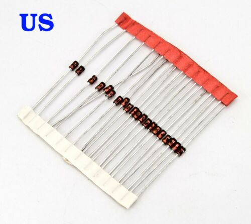 from USA 10 pcs /' 1N4729A 1W 3.6V ZENER DIODE