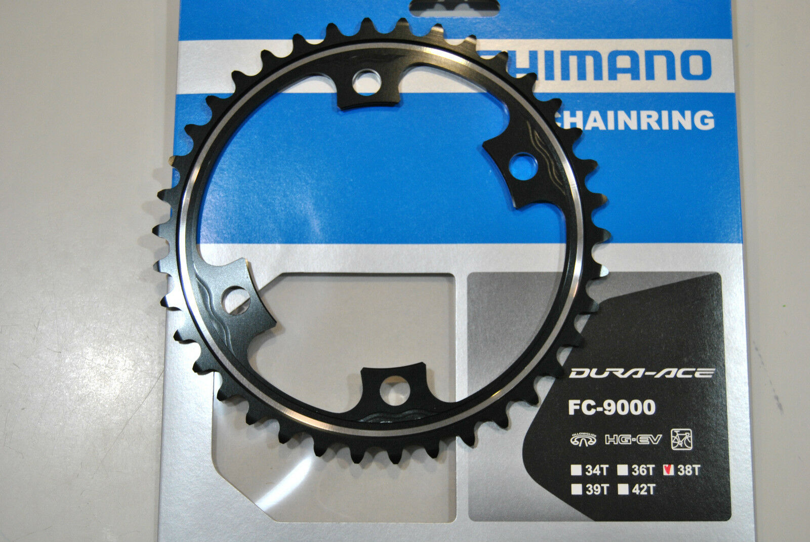 CGoldna SHIMANO DURA ACE 38T MC FC-M9000 ( ( ( 52x38 ) Kettenblatt 38T FC-M9 b8a5fc
