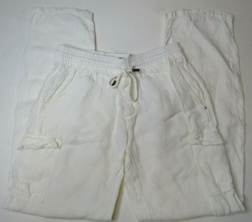 Vilebrequin Lin-Flax Beach Cargo Pants Mens Large