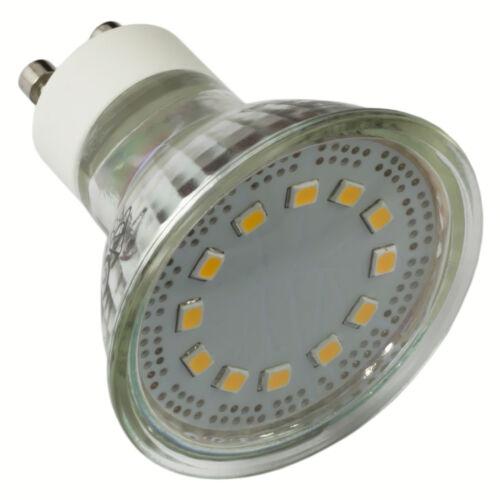 mumbi XQLite Spot Strahler Birne Sparlampe Glühbirne warmweiß GU10 LED 3W Licht