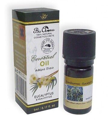 Eucalyptus Pure Therapeutic Aromatherapy Essential Oil 5ml