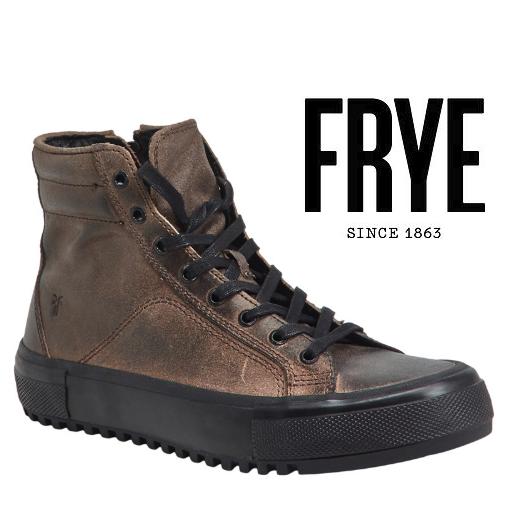 Mens Frye Varick High  Leather scarpe da ginnastica grigio All Dimensiones NWB  benvenuto a comprare