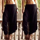 Sexy Harem Pants - Aladdin Drawstring Trousers Hippie Festival Baggy Boho Pants