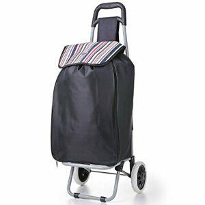 Hoppa-Extensible-Ligero-2-Rueda-Grande-Shopper-Equipaje-Cart-Enorme-51L