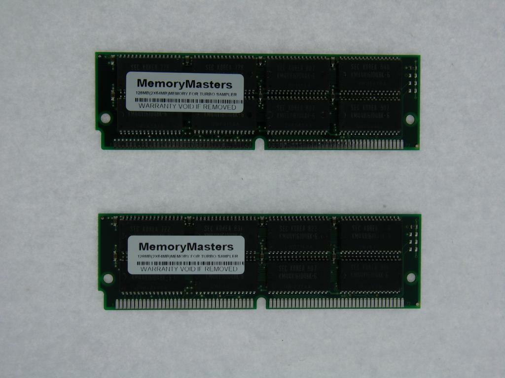 128mb 2 X 64mb Edo Memory Upgrade Emu E-Mu E4k-e6400 E4x-e4-x Turbo Sampler